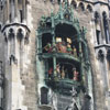 Neues Rathaus clock tower Munich